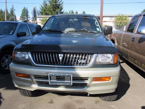1999 Mitsubishi Montero Sport for sale in Tacoma, WA