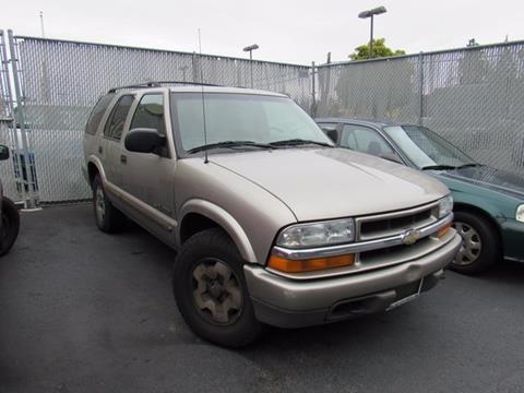 2002 Chevrolet Blazer for sale in Tacoma, WA