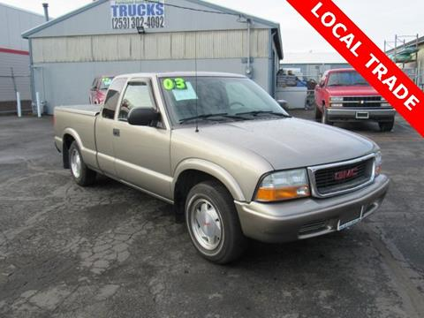 2003 GMC Sonoma for sale in Tacoma, WA