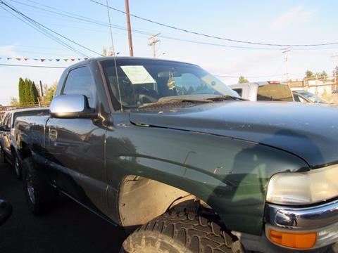 2001 Chevrolet Silverado 1500 for sale in Tacoma, WA