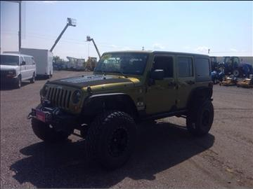 2007 Jeep Wrangler Unlimited for sale in Bennett, CO
