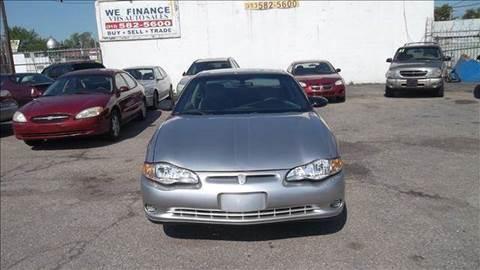 2005 Chevrolet Monte Carlo for sale in Detroit, MI