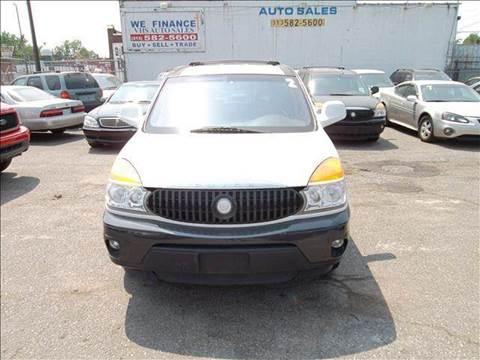 2002 Buick Rendezvous for sale in Detroit, MI
