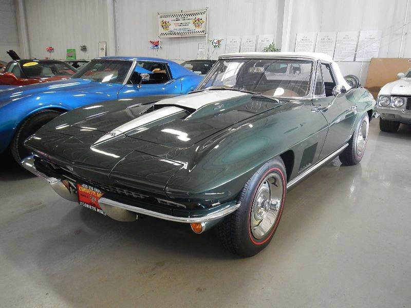 used 1967 chevrolet corvette for sale in illinois. Black Bedroom Furniture Sets. Home Design Ideas