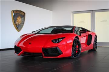 2016 Lamborghini Aventador for sale in Jericho, NY
