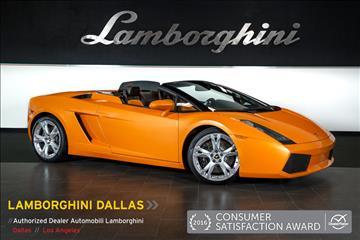 2007 Lamborghini Gallardo for sale in Richardson, TX