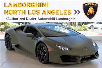 2017 Lamborghini Huracan for sale in Richardson, TX