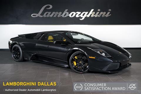 2008 Lamborghini Murcielago for sale in Richardson, TX