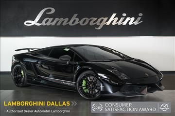 2011 Lamborghini Gallardo for sale in Richardson, TX