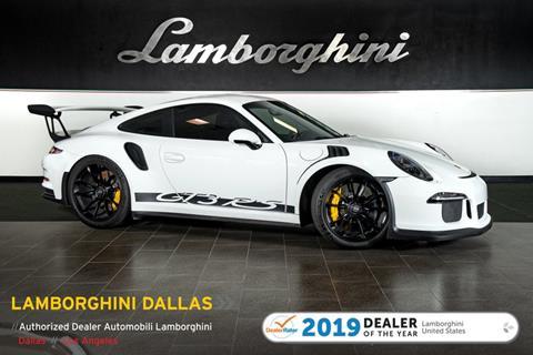 2016 Porsche 911 for sale in Richardson, TX