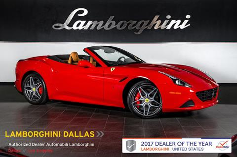 2016 Ferrari California T for sale in Richardson, TX