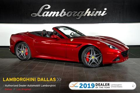 2015 Ferrari California T for sale in Richardson, TX