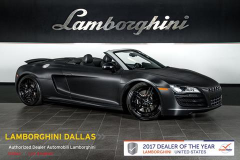 2011 Audi R8 for sale in Richardson, TX