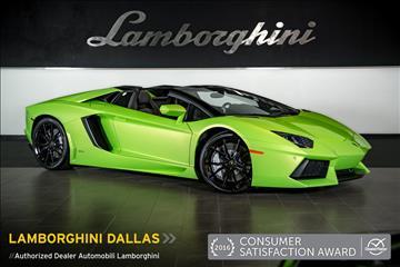 2014 Lamborghini Aventador for sale in Richardson, TX