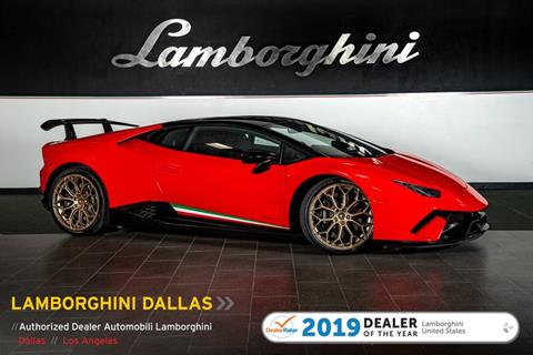 2018 Lamborghini Huracan for sale in Richardson, TX