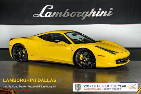 2010 Ferrari 458 Italia for sale in Richardson, TX