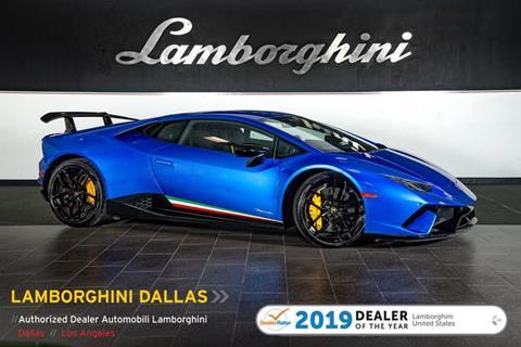 Used Lamborghini Huracan For Sale Carsforsale Com