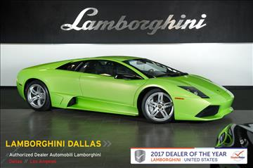 2009 Lamborghini Murcielago for sale in Richardson, TX