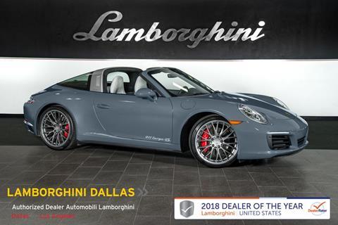 2017 Porsche 911 for sale in Richardson, TX