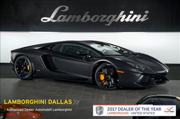2013 Lamborghini Aventador for sale in Richardson, TX