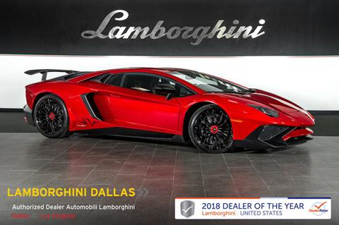 2016 Lamborghini Aventador For Sale In Richardson, TX
