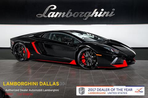 2015 Lamborghini Aventador for sale in Richardson, TX