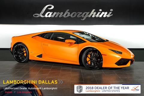 Lamborghini Huracan For Sale In Minnesota Carsforsale Com