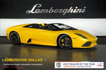 2008 Lamborghini Murcielago for sale in Richardson, TX