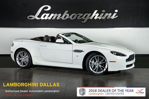 Aston Martin V Vantage For Sale In Texas Carsforsalecom - Aston martin dealership texas