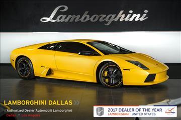 2005 Lamborghini Murcielago for sale in Richardson, TX