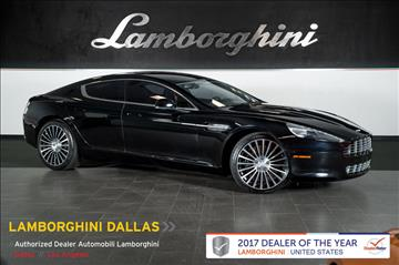 2012 Aston Martin Rapide for sale in Richardson, TX