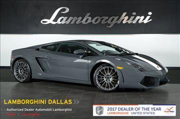 2010 Lamborghini Gallardo for sale in Richardson, TX