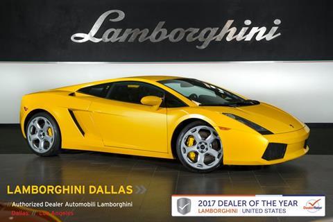 2006 Lamborghini Gallardo For Sale In Richardson, TX