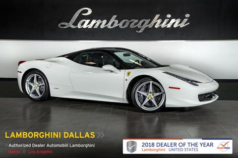 2015 Ferrari 458 Italia for sale in Richardson, TX