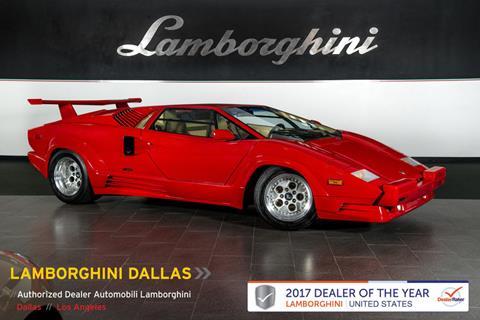 1989 Lamborghini Countach for sale in Richardson, TX