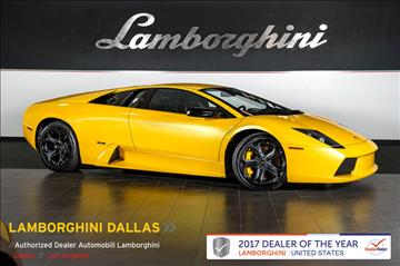 2006 Lamborghini Murcielago for sale in Richardson, TX
