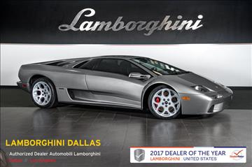 2001 Lamborghini Diablo for sale in Richardson, TX