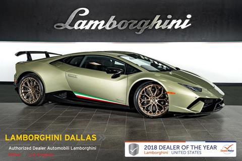 lamborghini huracan for sale in texas carsforsale com