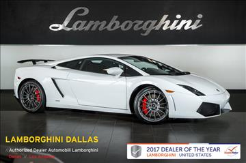 2013 Lamborghini Gallardo for sale in Richardson, TX