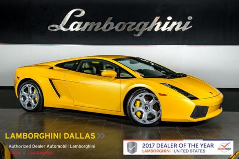 2004 Lamborghini Gallardo for sale in Richardson, TX