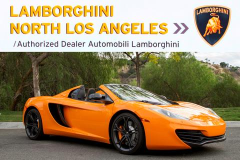 2014 McLaren MP4-12C Spider for sale in Richardson, TX