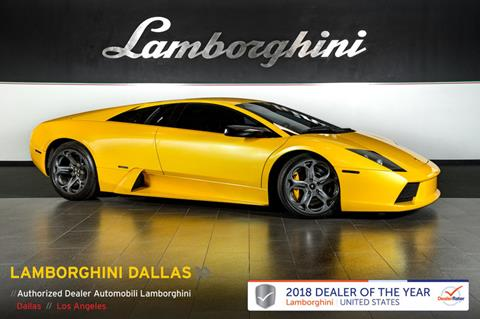 2004 Lamborghini Murcielago For Sale In Richardson, TX