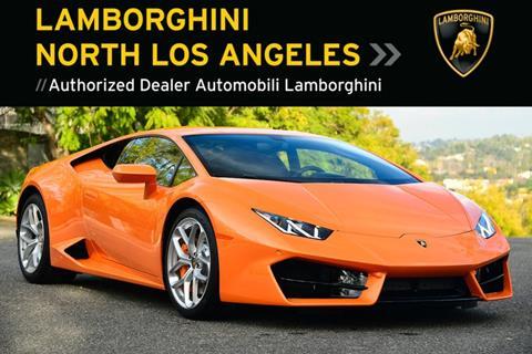 Used 2019 Lamborghini Huracan For Sale In California Carsforsale Com