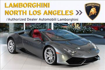 2016 Lamborghini Huracan for sale in Richardson, TX