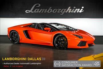 2015 Lamborghini Aventador for sale in Richardson, TX