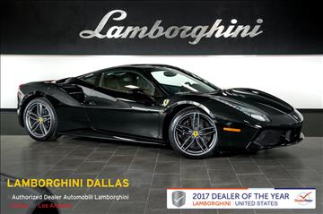 2016 Ferrari 488 GTB for sale in Richardson, TX