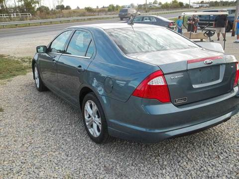 2012 Ford Fusion for sale in Portland, IN