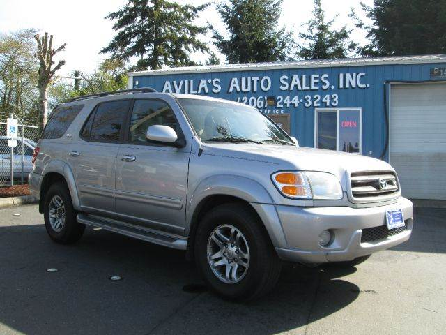 2003 toyota sequoia sr5 4dr suv in burien seattle tacoma. Black Bedroom Furniture Sets. Home Design Ideas