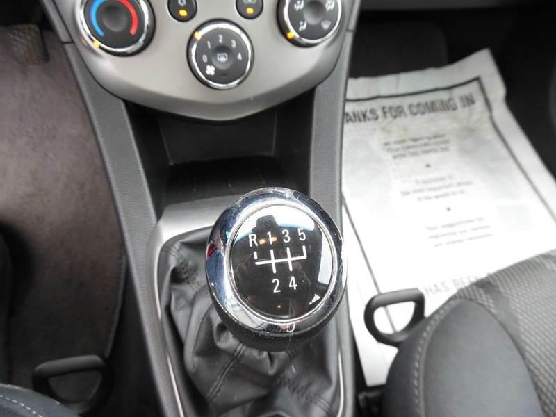 2013 Chevrolet Sonic LT Manual 4dr Sedan - Monroe NC