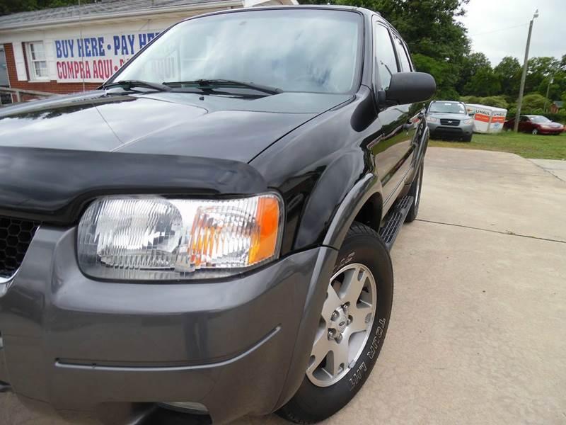2003 Ford Escape XLT Popular 2 4WD 4dr SUV - Monroe NC